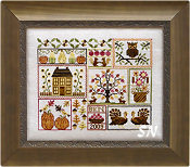 Autumn Leaves and Sunflower Seeds from Blue Ribbon Designs - click for more