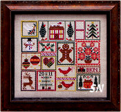 Pocketful of Peppermint from Blue Ribbon Designs - click for more