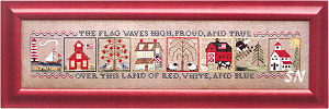 Americana Panorama from Blue Ribbon Designs - click for more