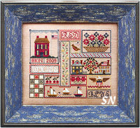 Patriotic Patchwork from Blue Ribbon Designs - click for more