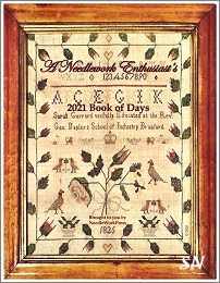 2021 Needlework Enthusiast's Book of Days - click to see more
