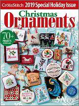Just Cross Stitch 2019 Annual Ornament Issue - click to see more