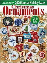 Just Cross Stitch 2020 Annual Ornament Issue - click to see more