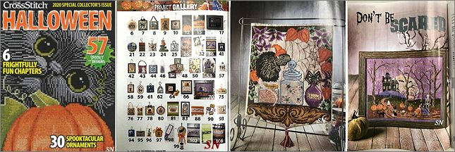 Just Cross Stitch Halloween 2020 Issue - click to see more