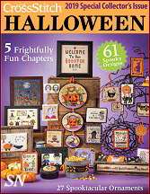 Just Cross Stitch 2019 Halloween Issue - click to see more