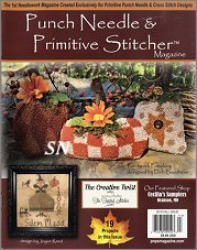 The Fall 2019 Punch Needle & Primitive Stitcher Magazine Issue - click to see more
