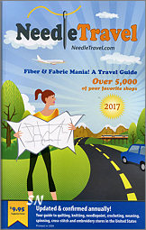 Fiber & Fabric Mania 2017!  A Needlework Shop Travel Guide - click to see more