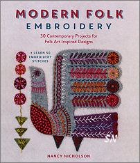 Modern Folk Embroidery - click to see more