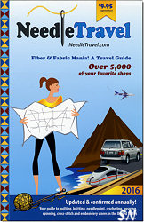 The Needle Travel Fiber and Fabric Mania Travel Guide for 2015 - click to see more