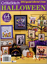 The 2018 Collector's Halloween Just Cross Stitch Issue - click to see more