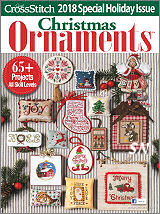 JCS 2018 Annual Just Cross Stitch Magazine Ornament Issue - click to see more