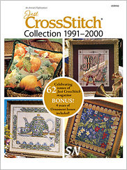 Just Cross Stitch Magazine Archive DVD 1991 through 2000 - click to see more