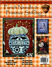 The Autumn 2020 Punch Needle & Primitive Stitcher Magazine - click to see more