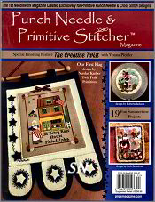 Punch Needle & Primitive Stitcher Summer 2019 Issue - click to see more