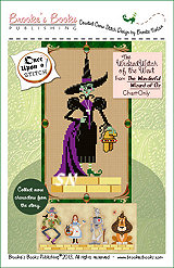 Wicked Witch of the West Chart from Brooke's Books -- click to see more