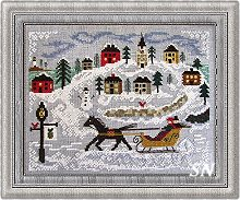 New England Winter from By the Bay Needleart - click to see more