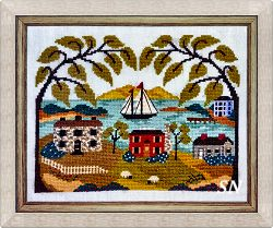 Mountain View Bay from By the Bay Needleart - click to see more