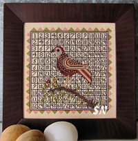 A Multiplying Bird from Carriage House Samplings - click to see more