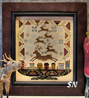 Reindeer Games from Carriage House Samplings - click to see more