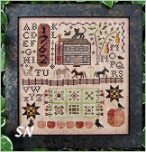 Autumn Harvest Sampler from Kathy Barrick - click to see more