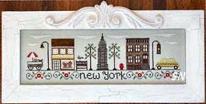 Afternoon in New York from Country Cottage Needleworks -- click to see more