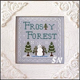 Frosty Forest #9 Frosty Forest from Country Cottage Needleworks -- click to see more