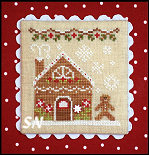 Gingerbread Village #4 Gingerbread House #2 from Country Cottage Needleworks -- click to see more