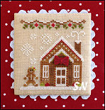 Gingerbread Village #5 Gingerbread House #3 from Country Cottage Needleworks -- click to see more