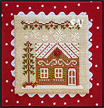 Gingerbread Village GV10 House #7 from Country Cottage Needleworks -- click to see more