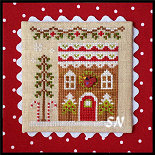 Gingerbread Village #6 Gingerbread House #4 from Country Cottage Needleworks -- click to see more