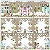 Glitter Village Series from Country Cottage Needleworks