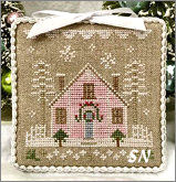 Glitter Village Series #2 from Country Cottage Needleworks -- click to see more