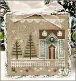 Glitter Village Series #3 from Country Cottage Needleworks -- click to see more