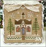 Glitter Village Series #5 from Country Cottage Needleworks -- click to see more