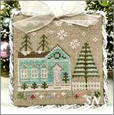 Glitter Village Series #7 from Country Cottage Needleworks -- click to see more