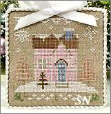 Glitter Village Series #8 from Country Cottage Needleworks -- click to see more