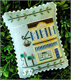 Main Street #9 Post Office from Country Cottage Needleworks -- click to see more