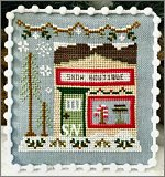 Snow Village part 7 Snow Boutique from Country Cottage Needleworks -- click to see more