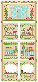 Welcome to the Forest combo from Country Cottage Needleworks -- click to see more