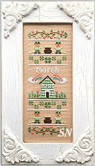 March Sampler of the Month from Country Cottage Needleworks -- click to see more