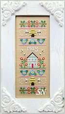 May Sampler of the Month from Country Cottage Needleworks -- click to see more