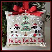 Fa La La from Country Cottage Needleworks -- click to see more