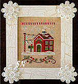 Needleworks Santas Village #3  North Pole Post Office from Country Cottage Needleworks -- click to see more