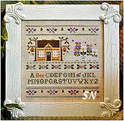 A Bee C Sampler from Country Cottage Needleworks - click to see more