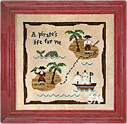 A Pirate's Life from Country Cottage Needleworks - click to see more
