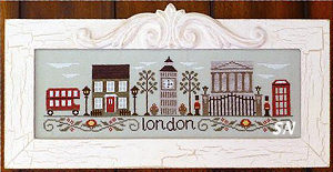 Afternoon in London from Country Cottage Needleworks -- click to see more