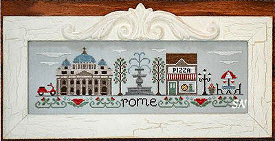 Afternoon in Rome from Country Cottage Needleworks -- click to see more