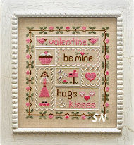 Be My Valentine from Country Cottage Needleworks -- click to see more