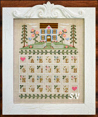 Cottage Alphabet from Country Cottage Needleworks -- click to see more