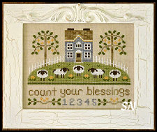 Count Your Blessings from Country Cottage Needleworks -- click to see more